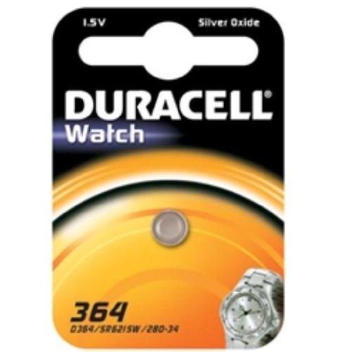 Duracell 75072542, Pila Speciale Orologi 364 Piccolo Blister  x1