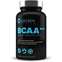 Okygen Sports BCAA 4:1:1, Suplementos - 100 Tabletas