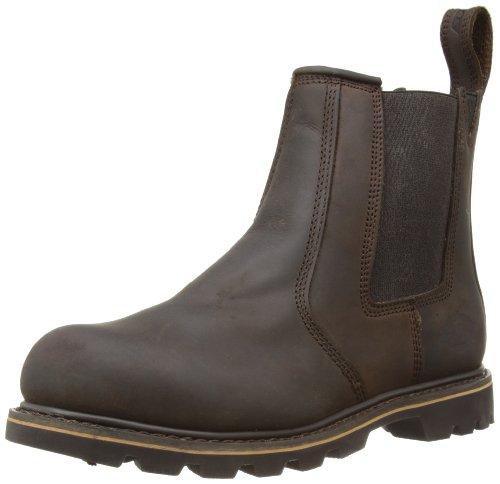 Dickies Fife, Herren Chelsea Boots Beige (nubuck)