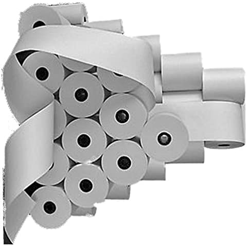 Rotoli per MBO 1280PD (100pezzi)-57mm x 65mm x 40m, nucleo Ø 12mm bianco senza legno, prodotto originale