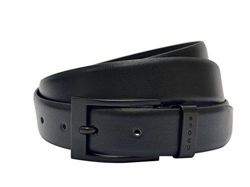 Cross Mens Genuine Leather Belt - Classic Century Range - Black (AC018151)
