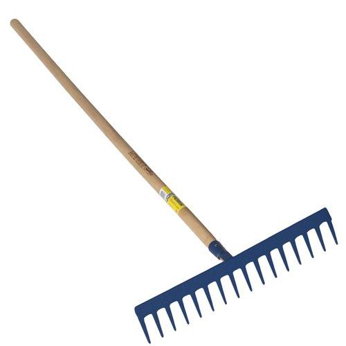 Outils Perrin - PERRIN - Râteau travaux publics à lame dents droites emmanché 1,50 m PEFC
