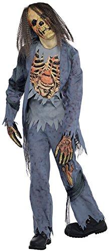 Leiche Kostüm Kind - Kinder Zombie Leiche Halloween Kostüm - EU 128-140