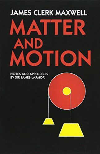 Matter and Motion (Dover Books on Physics)