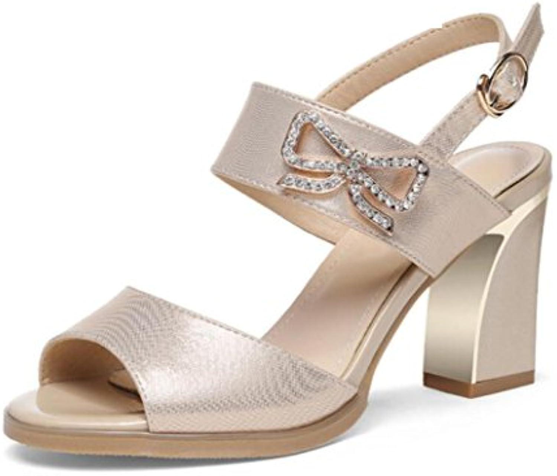 MUYII Sandalias De Tacón Alto De Las Mujeres Para La Primavera Verano Nuevos Zapatos De Las Mujeres Coreanas De...