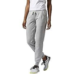 Reebok EL FT C PNT - Pantalon, Couleur Gris, Taille S