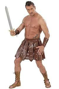 Déguisement gladiateur jupe et brassard homme