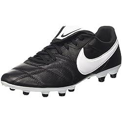 Nike Premier Ii Fg, Zapatillas de Fútbol para Hombre, Negro (Black/white-black 001), 41 EU