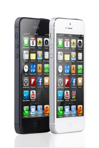 Apple iPhone 5 Smartphone (4 Zoll (10,2 cm) Touch-Display, 16 GB Speicher, iOS 6) weiß - 5