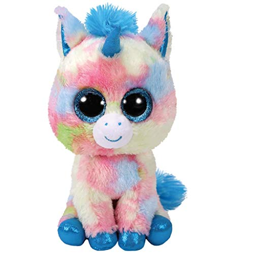 "Beanie Boo Unicorn - Blitz - Multicoloured - 15cm 6"""