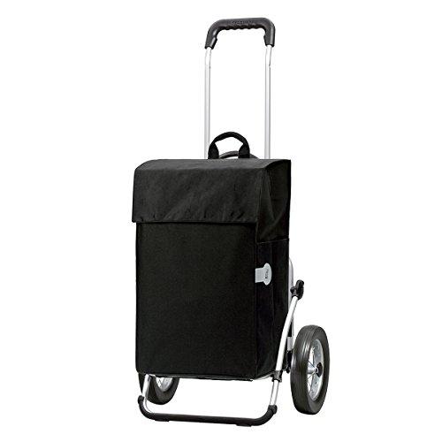 Andersen Shopper Royal Metallspeichenrad mit Tasche Hera 44 Liter schwarz