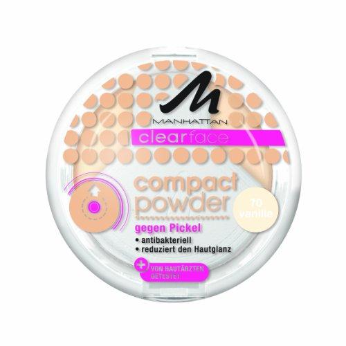 Manhattan CF Compact Powder 70 1er Pack (1 x 9 g) -