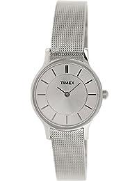 Timex T2P167 - Reloj de cuarzo para mujeres, color plata