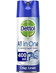 Dettol All in One Aerosol Household Disinfectant, 400 ml
