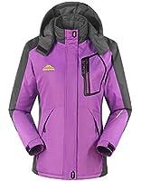 iLoveSIA Women's Mountain Jackets Waterproof Skiing Jacket