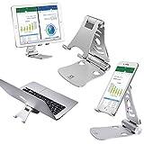 KZKR Faltbar Tablet Ständer Multi-Winkel einstellbar Handy Halter für 4-13
