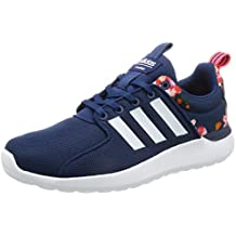 adidas CLOUDFOAM LITE RACER W - Zapatillas deportivas para Mujer, Azul - (AZUMIS/FTWBLA/ROJIMP) 42 2/3