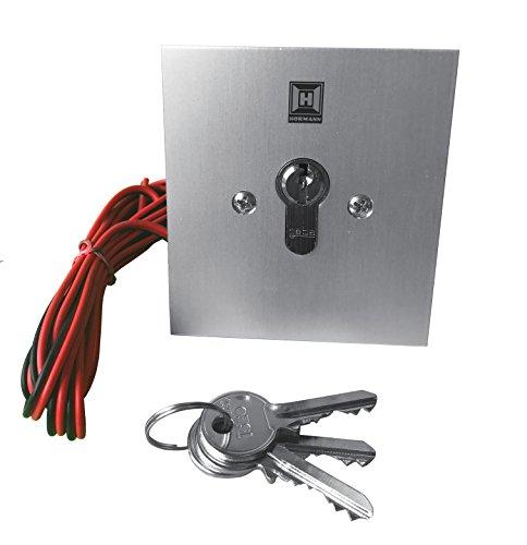 Hörmann Schlüsseltaster Esu40, 2M Leitung, 1 Stück, - Garagentor-sicherheit