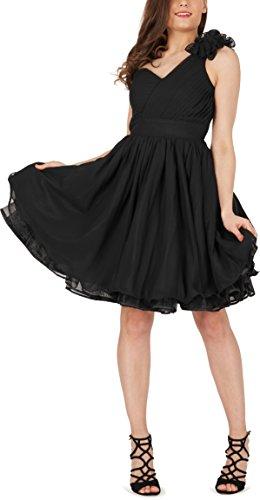 BlackButterfly 'Clarissa' Vintage Clarity Kleid im 50er-Jahre-Stil (Schwarz, EUR 36 – XS) - 5