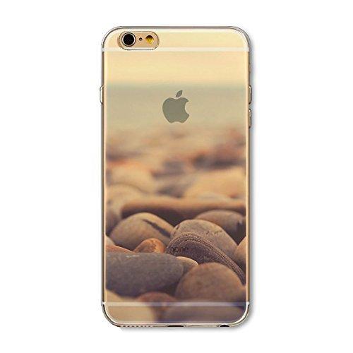 Coque iPhone 7 Plus Housse étui-Case Transparent Liquid Crystal en TPU Silicone Clair,Protection Ultra Mince Premium,Coque Prime pour iPhone 7 Plus-Paysage-style 5 4