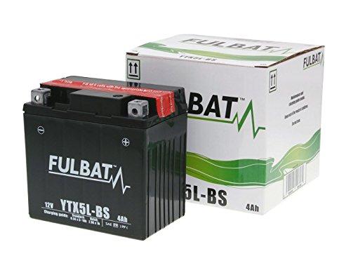 Batterie Fulbat YTX5L-BS für Rex RS 450 50 4T Bj. 2006-2014 inkl. 7,50 EUR Batteriepfand