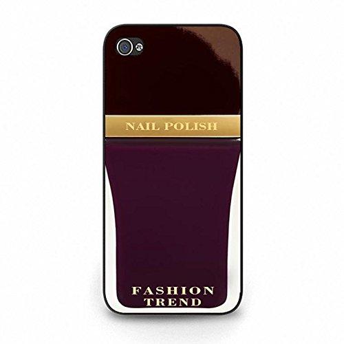Iphone 5c Case,Premium Design Cosmetic Nail Polish Phone Case Cover for Iphone 5c Nail Polish Shell Cover Color163d