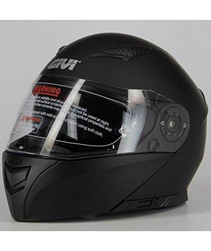 Givi HX16BN90060 Hps Hx16 Modular Casco Modular, Color Negro Mate, Talla 60/L
