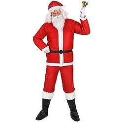 Disfraz de Papá Noel para adulto M / L