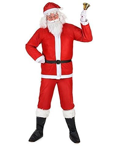 Déguisement Père Noël adulte XXL