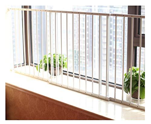 fenstergelaender Lochfreies Fenster Balkon Geländer Erkerfenster Fenstergeländer Kindersicherheitsnetz Metall Hochhaus 2 Stück für Zuhause