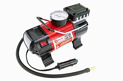 12V Auto MINI AIR KOMPRESSOR Elektrische Luftpumpe Einzylinder-Luftpumpe Mit einer LED-Lampe, Inflating speed:30l/Min