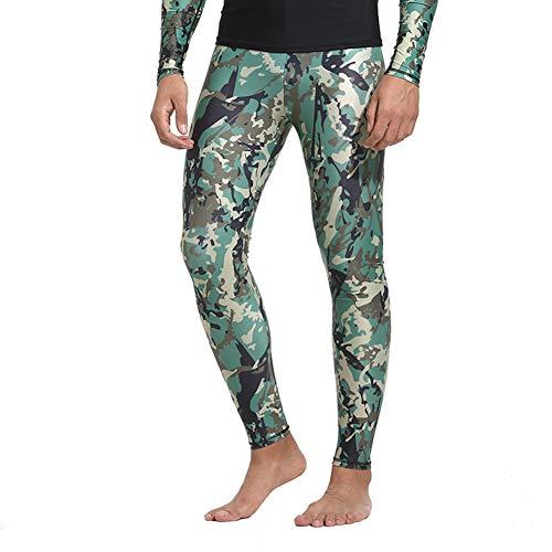 HOMELECT Männer Langarm Neoprenanzug T-Shirt und Hose - Verhindern Sie Quallen Schnelltrocknende Rash Guard - Ideal zum Schwimmen Tauchen Surfen Tauchen Schnorcheln,Bpants,M