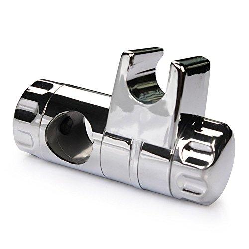 Rixow Gleiter Schieber Brausehalter Stangengleiter für Duschstange 25 mm Test