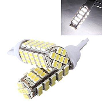 TOOGOO 2X T10 W5W Ampoule 68 LED SMD W5W BLANC Xenon veilleuse DC 12V VOITURE feuxtableau de bord Indicateur