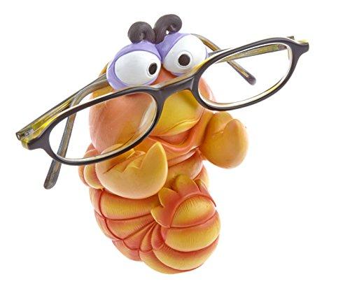 by-Bers Brillenhalter Karibik, Design Lobster, Garnele, Hummer handbemalt, aus Polyresin