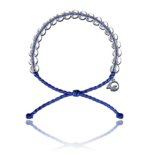 4ocean Armband mit Charm aus 100% recycelten Material aus recycelten Jewelry Signature Blue (Armbänder 100 Charms Für)
