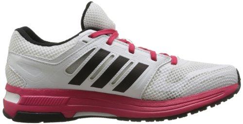 adidas Revenge Mesh W, Chaussures de running femme Blanc (Blanc/Noir1/Fravif)