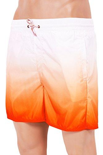 Herren Badeshorts in verschiedenen Farben Rainbow Rainbow Orange