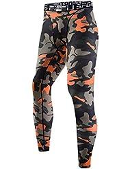 Pantalones de running para hombre mallas de compresión S-3X L