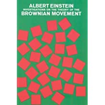 Investigations on the Theory of the Brownian Movement (Dover Books on Physics)