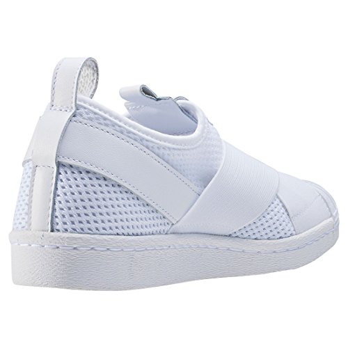 adidas Damen Superstar Slipon W Basketballschuhe White White