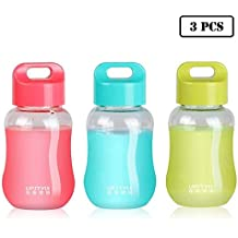 JILIGUALA UPSTYLE Mini Tazas de plástico para café y Viaje, Botella de Agua Deportiva,