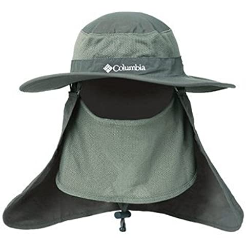 Sombrero del Hombre para Deporte, Minkle, La Moda de Verano al Aire Libre de Protección Solar Cap Cuello de la Cara de la Aleta de Sombrero de Ala Ancha