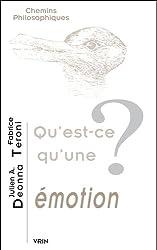 Qu'est-ce qu'une émotion?