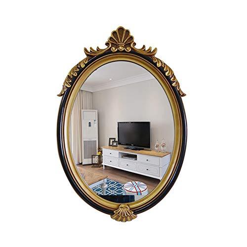 Espejo de baño Retro Ovalado Espejo de Pared