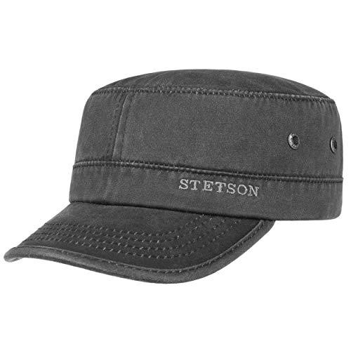Stetson Casquette Datto Army Homme - Oilskin Urban avec étiquette Visiere, Visiere Printemps-ete