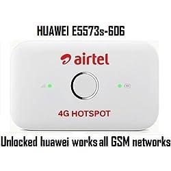 Airtel E5573s-606 Airtel 4G Hotspot (White)