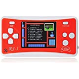 """Hisonders 8-Bit 2.5"""" LCD Retro Portable Handheld Video Game Console Built In 162 Games (Red)"""