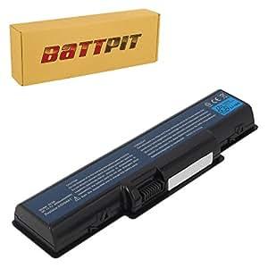 Battpit Batterie d'ordinateur Portable de Remplacement pour eMachines E527 (4400 mah)