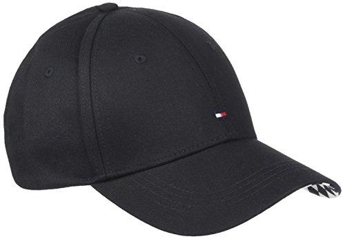 Tommy Hilfiger Damen Baseball Cap BB Print, Schwarz (Black 002), One Size (Herstellergröße: OS)